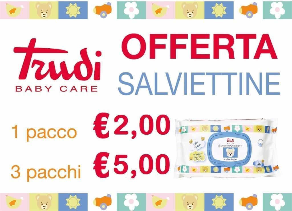 SALVIETTINE Trudi Baby Care | Farmacia San Michele | myPushop