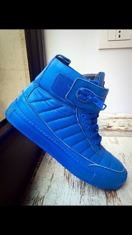 SNEAKERS BLU ROYAL UOMO