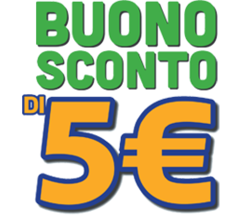 COUPON SCONTO € 5,00