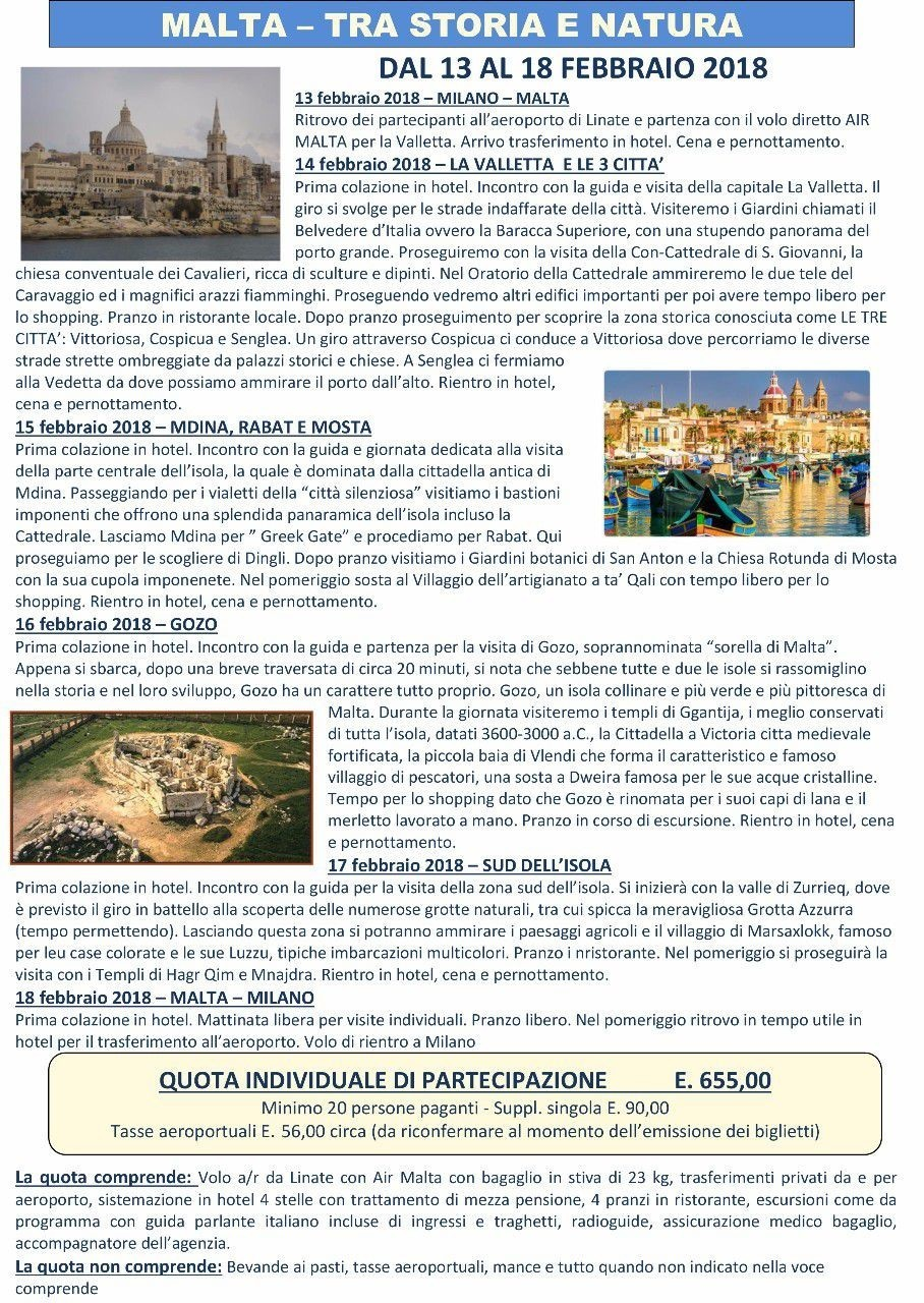Malta punto touring club italiano monza mypushop - Agenzia immobiliare a malta ...