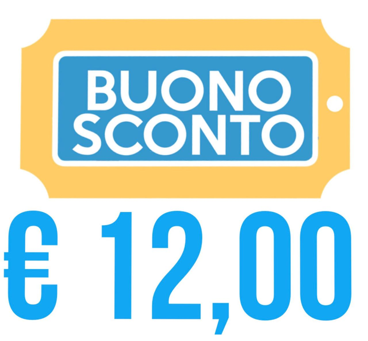 COUPON SCONTO € 12,00