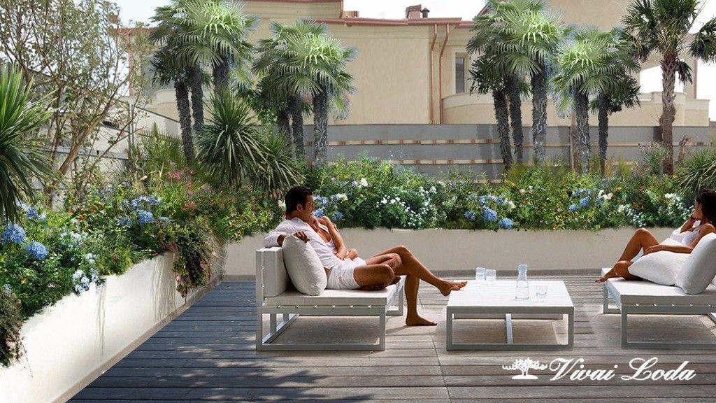 Awesome terrazze e giardini gallery design trends 2017 - Giardino a terrazze ...