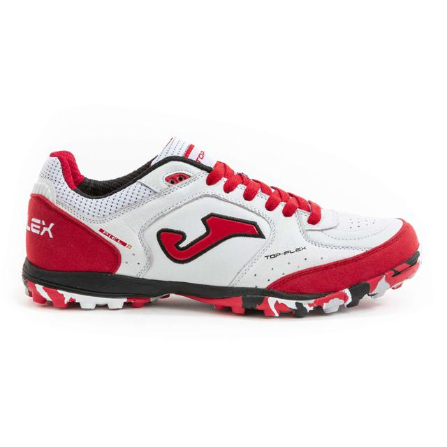 TOP FLEX 2022 WHITE/RED TURF