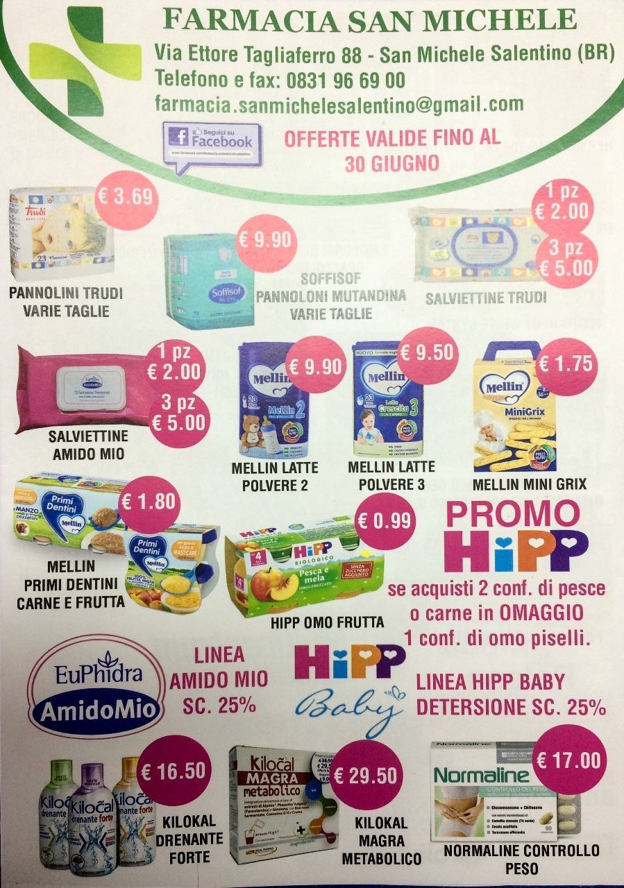 Volantino OFFERTE | Farmacia San Michele | myPushop