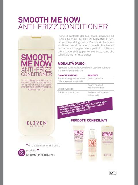 SMOOTH ME NOW (condizionante anti crespo) ml.300 1