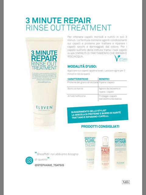 3 MINUTE REPAIR  ml200 Rinse out treatment 1