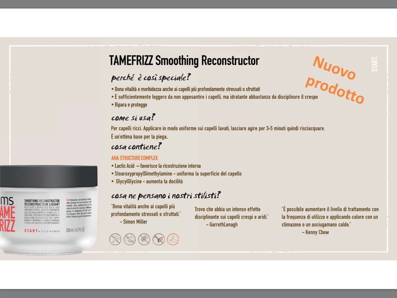 TAMEFRIZZ Smoothing Reconstructor  ml.200 1