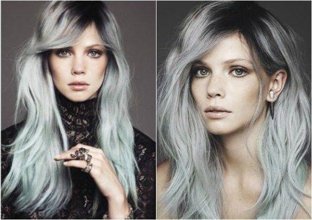 Tingere i capelli color grigio