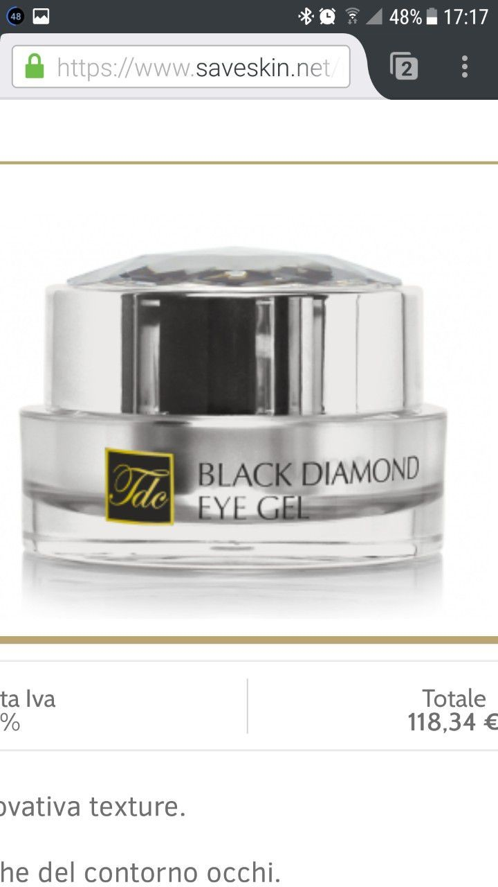Black Diamond eye gel 1
