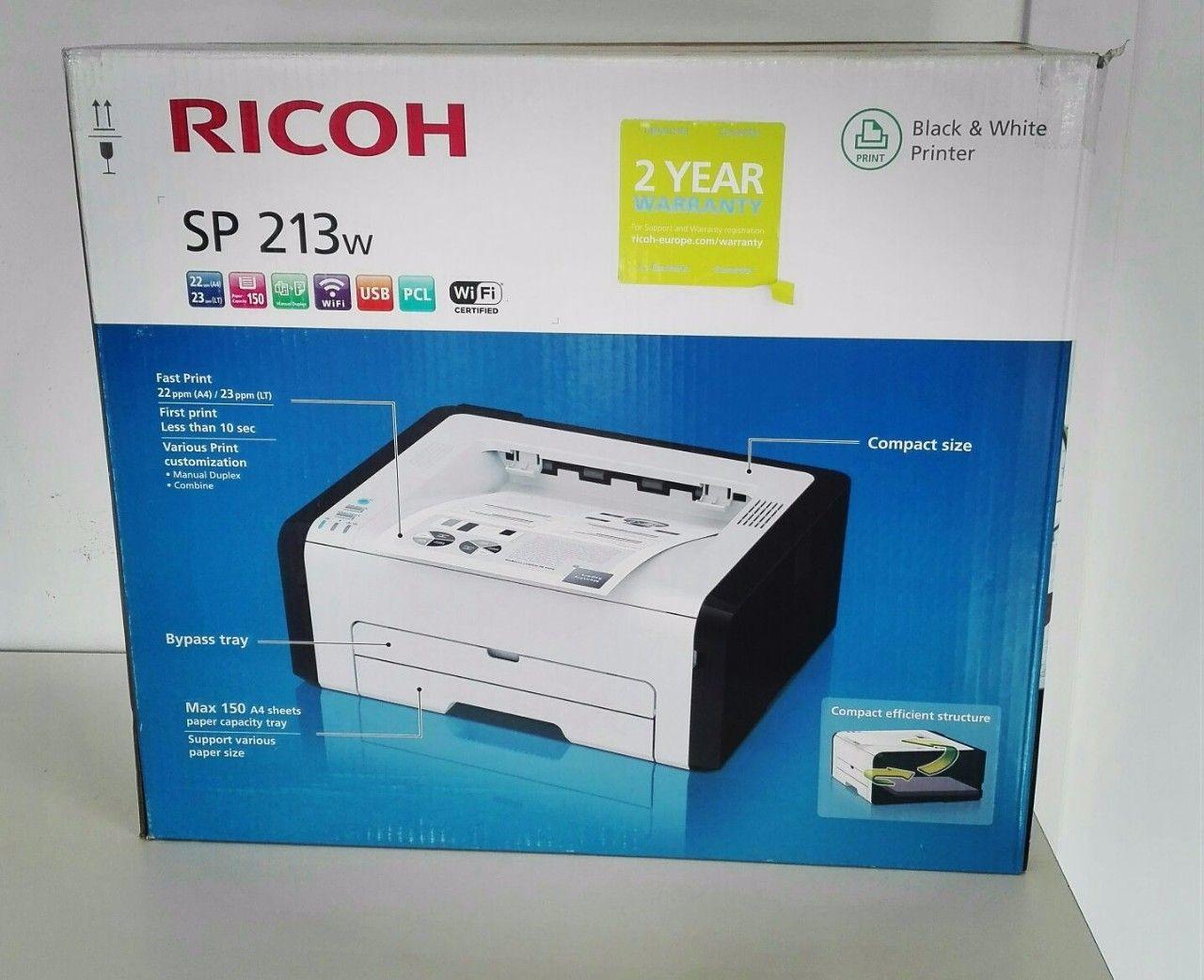 Stampante RICOH SP213w | Smartcore srl | myPushop