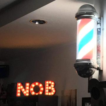 not only barber logo