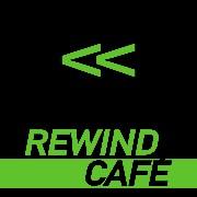 REWIND CAFE' logo