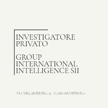 Investigatore Privato Group International Intelligence logo