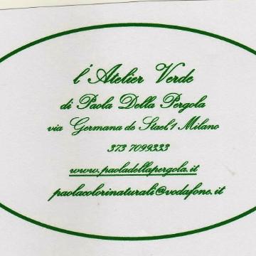 Paola Della Pergola - Atelier Verde. logo