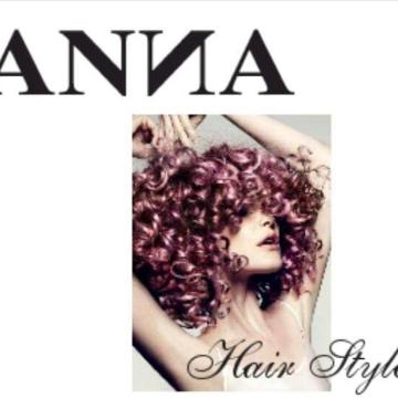Anna Hair style/ Hipster logo