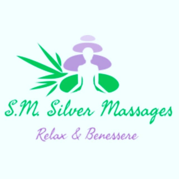 SM Silver Massages logo