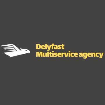 Delyfast multiservice agency logo
