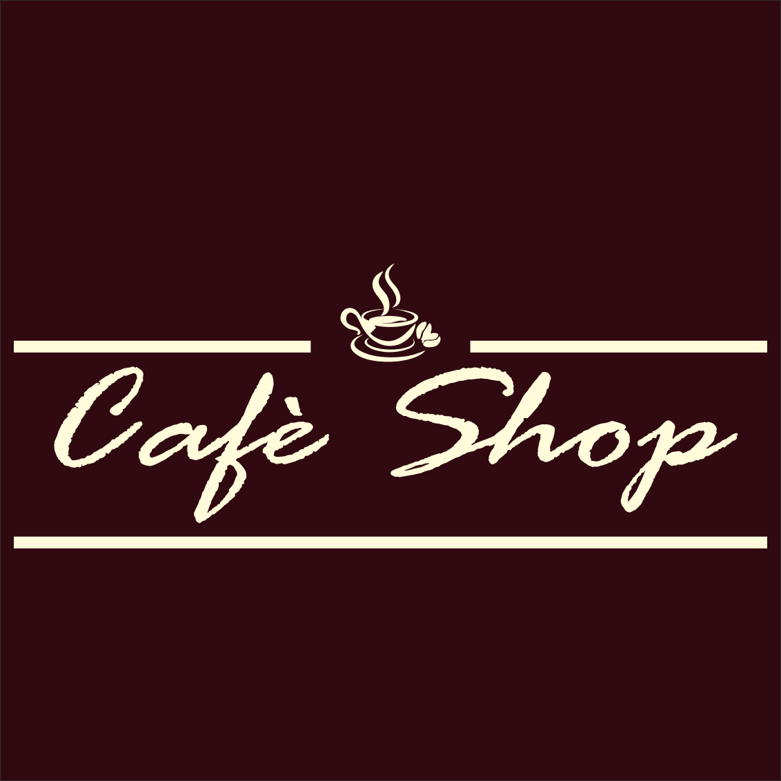 Cafè Shop logo