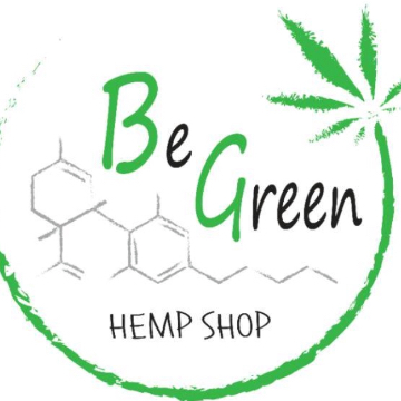 Be Green Hemp Shop logo