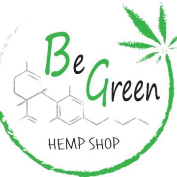 Be Green Hemp Shop logo