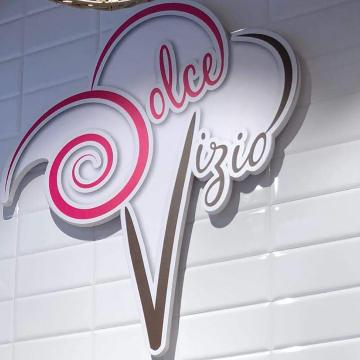 Dolce vizio gelateria artigianale logo