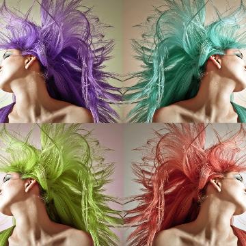 vivi hair stylist logo