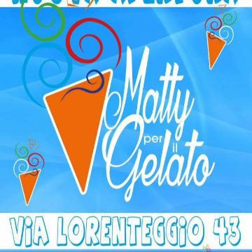 Matty per il gelato logo