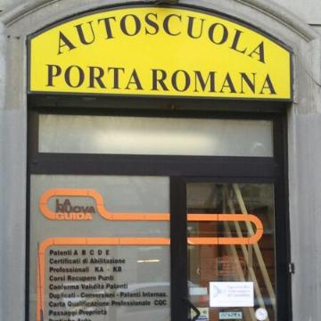 Autoscuola Porta Romana logo