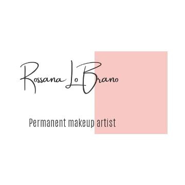 Rossana Lo Brano Permanent makeup artist logo