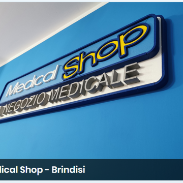 MEDICAL SHOP il Negozio Medicale logo