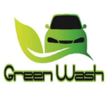 GREEN WASH logo