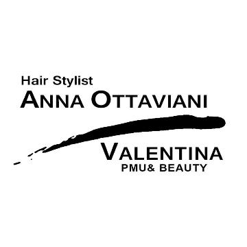 Hair stylist Anna Ottaviani Valentina pmu& beauty logo