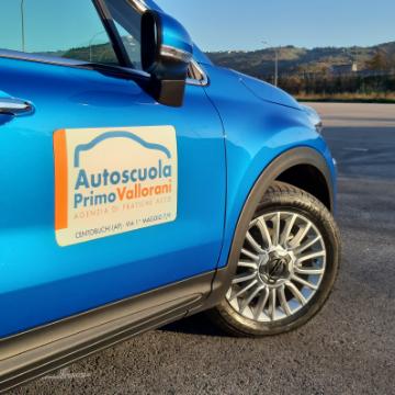 Autoscuola Vallorani Primo logo