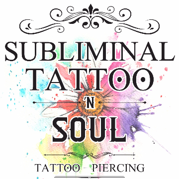 Subliminal tattoo 'n soul logo