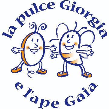 La pulce Giorgia e l'ape Gaia logo