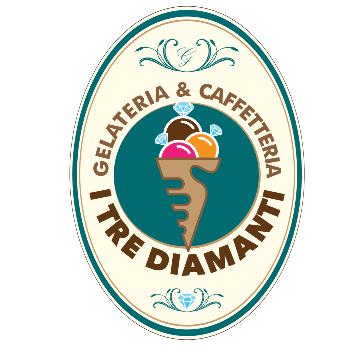 Gelateria caffetteria I tre Diamanti logo