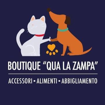 Qua la zampa Boutique logo