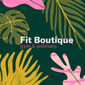 Fit Boutique Gym & Wellness logo