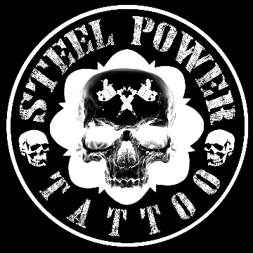 Steel Power Tattoo logo