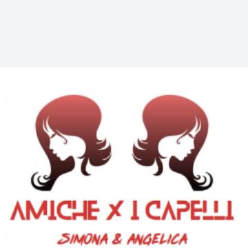 AMICHE X I CAPELLI logo