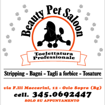 beauty pet saloon logo