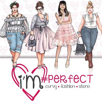 I'M PERFECT Abbigliamento donna e moda mare. logo
