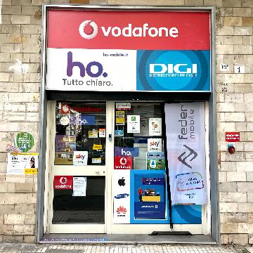 Vodafone via Tarantelli logo