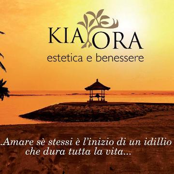 KIA ORA estetica & benessere logo