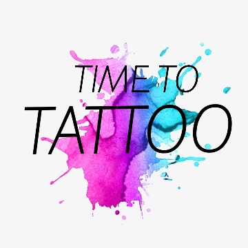 TIME TO TATTOO STUDIO logo