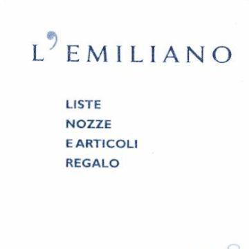 L'EMILIANO srl logo
