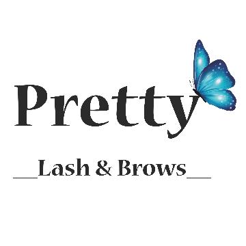 pretty lash&brows logo