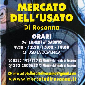 Mercato dell'usato di Rosanna logo
