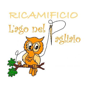 L'AGO NEL PAGLIAIO Ricamificio logo