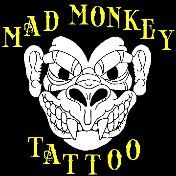 Mad Monkey Tattoo logo